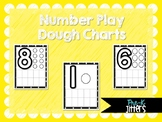 Play Dough Number Charts