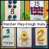 Numbers Playdough Mats