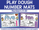 Play Dough Number Mats {0-20}