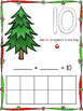 Play Dough Number Mats- Christmas