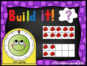 Play Dough Number Sense - PowerPoint Engagement - Twenty Frames