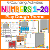 Play Dough Numbers 1-20 Counting Activities | Counting to 20 | Math Centers
