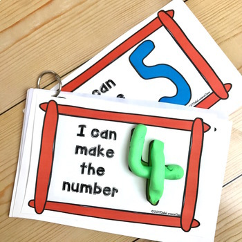 Play Dough Numbers