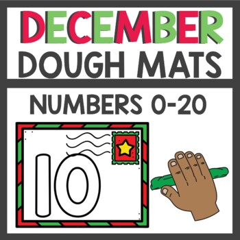 Dollar Deals Play Dough Numbers December