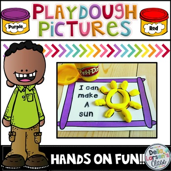 Play Dough Picture Center