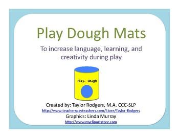 Play Dough Place Mats
