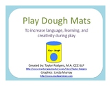 Play Dough Place Mats