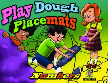 Play Dough Place Mats - Numbers
