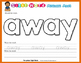 Playdough (Playdoh) 40 Pre-Primer Dolch Sight Words Moulding (Molding) Mats