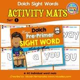Playdough (Playdoh) 40 Pre-Primer Dolch Sight Words Mouldi