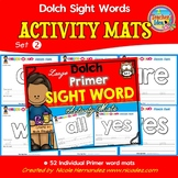 Playdough (Playdoh) 52 Primer Dolch Sight Words Moulding (Molding) Mats