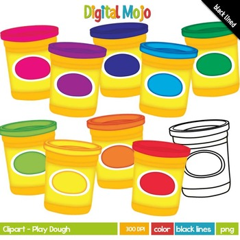 Play Dough / Play-Doh Clipart