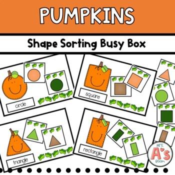 Pumpkins Shape Sorting Busy Box