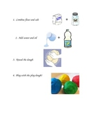 Play Dough Recipe with Ingredients step by step for students