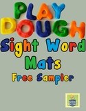 Play Dough Sight Word Mats | Sight Word Practice | Word Work Center