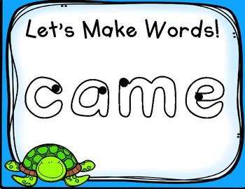 Splish Splash Play Doh Sight Word Mats! Primer List