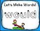 Play Dough Sight Word Mats! Second Grade List