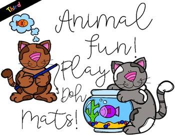 Play Dough Sight Word Mats! Third Grade List
