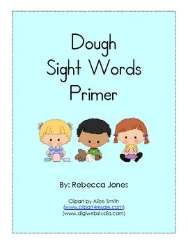 Play Dough Sight Words Primer