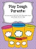 Play Dough Sign Up Sheet