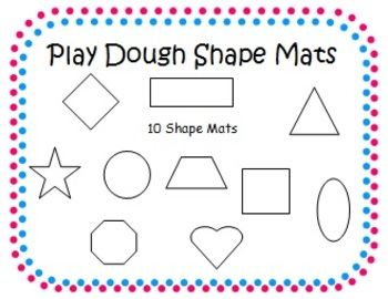 Play-Dough Simple Shape Mat