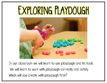 Play Dough {Social Story}