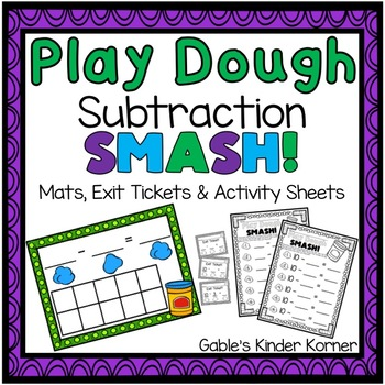 Play Dough Subtraction SMASH!