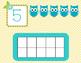 Play Dough Ten Frame Mats-Owl Friends