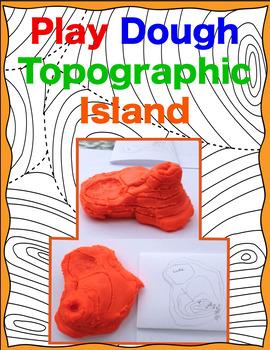Play Dough Topographic Island- MidnightStar