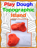 Play Dough Topographic Island- MidnightStar
