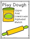 Play Dough Upper and Lower case Letter Match