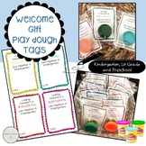 Play Dough Welcome Gift Tags