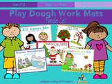 Play Dough Work Mats Bundle Set