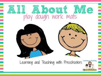 Play Dough Work Mats Bundle Set