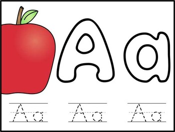Alphabet Play Dough Mats Letters A to Z