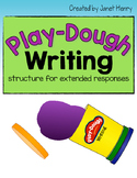 Play-Dough Writing