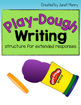 Play-Dough Writing