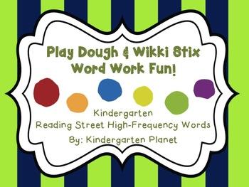Play Dough and Wikki Stix Word Work Fun!