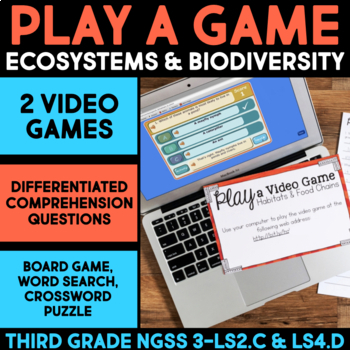 Play a Video Game About Food Chains - Ecosystems and Biodiversity
