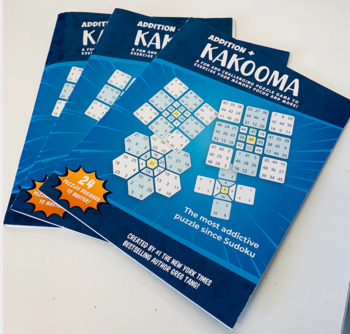 Kakooma! - Trains Your Computational Skills! - Great for All Ages! - 100% Math