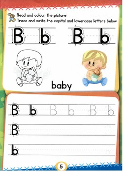 Play & Learn Alphabet ABC Complete Book