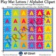 Play Mat Letters and Alphabet Clipart