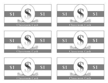 Play Money (Classroom Cash)