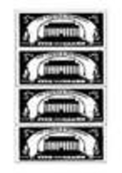 Play Money - Classroom Management Whole Pack (1,5,10,20,50,100 Bills)