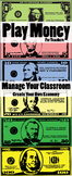 Play Money - Classroom Management Whole Pack (1,5,10,20,50