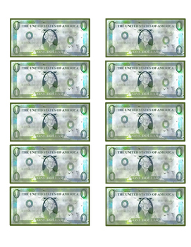 image regarding Printable Play Money $1 named Enjoy Funds Printable $100 Monthly bill Worksheets Academics Pay back