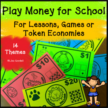 Play Money for Classrooms - Use with Lessons, Games or Token Economy