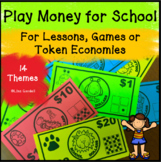 Play Money for Classrooms BACK TO SCHOOL Use with Lessons, Games, Token Economy