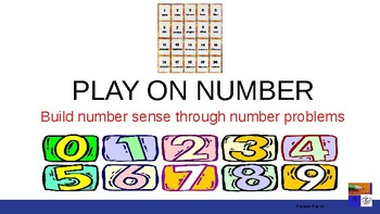 Play On Number Fun Math PowerPoint file