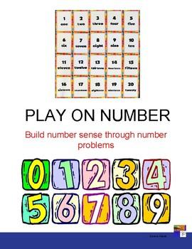 Play On Number Fun Math Printable